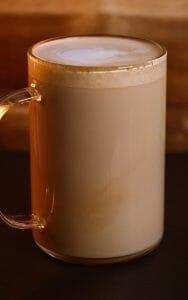 hot latte breve