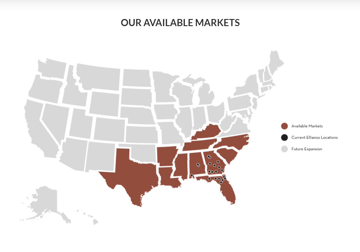 Ellianos Coffee Expands available territories to Texas and Kentucky