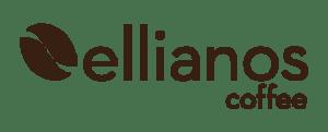 Ellianos Coffee Brown Logo