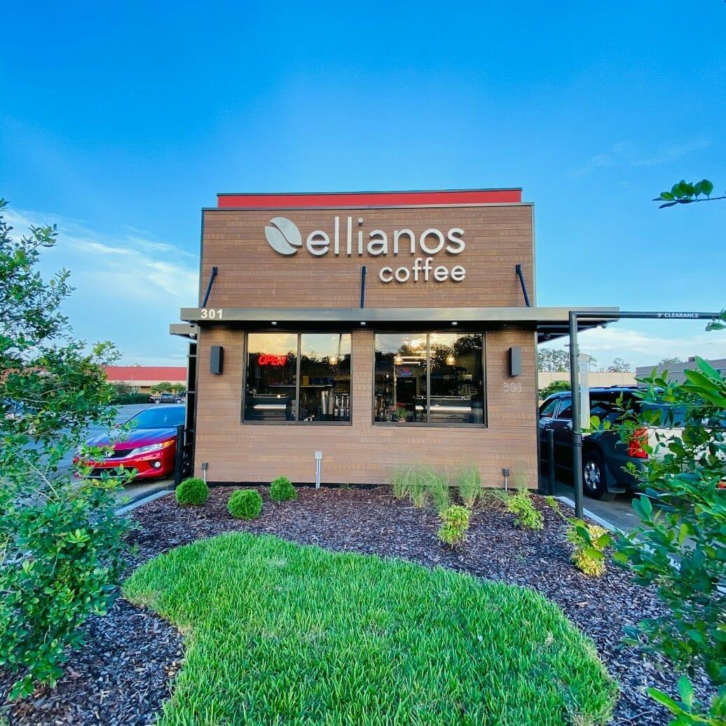 Ellianos Coffee on Blanding First Anniversary