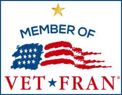 VetFran 1 Star Member Logo