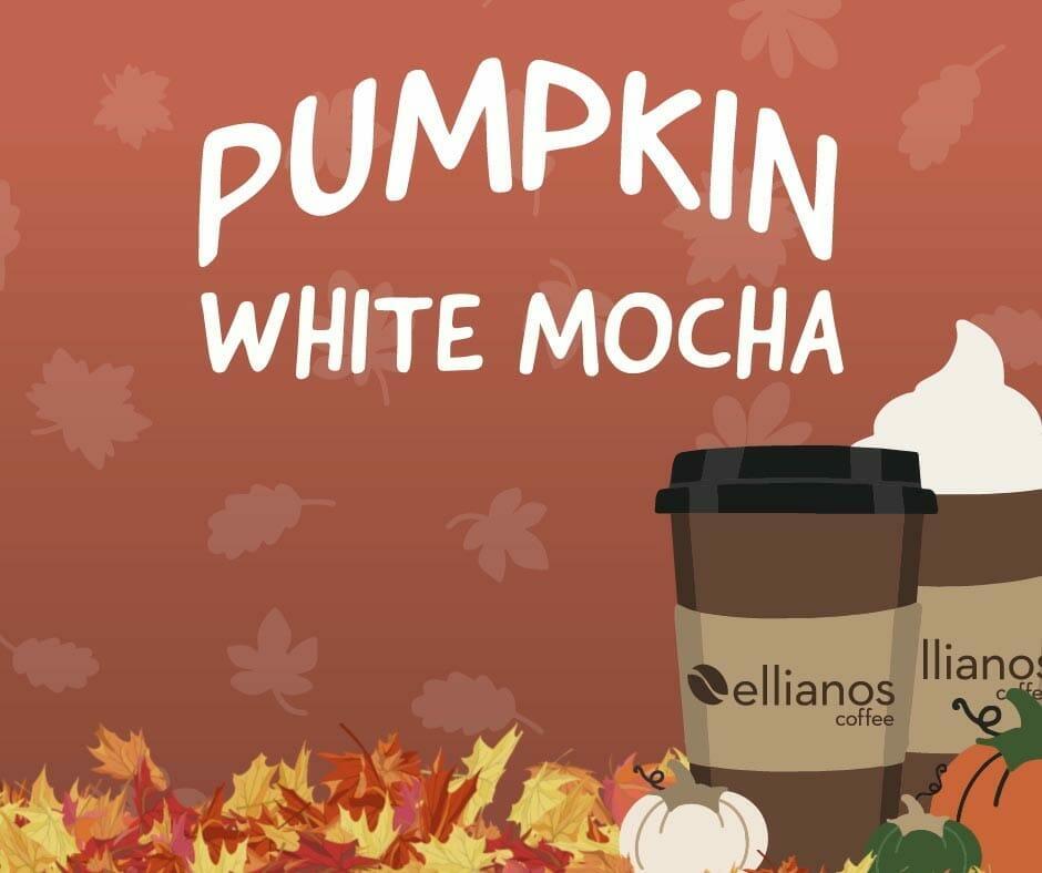 Facebook Pumpkin White Mocha Still